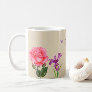 Custom Summer Flowers Mug