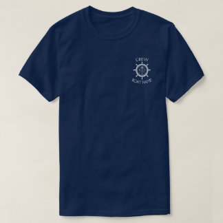 "Custom SV Sailing Vessel Logo ""Your Name Here"" T-Shirt"