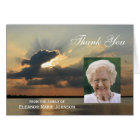Custom Sympathy Thank You Card with Photo