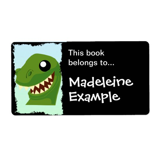 Custom T-Rex Booktag