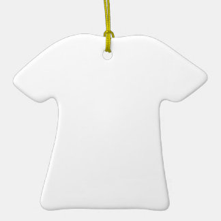 Custom T-Shirt Shaped Ornament