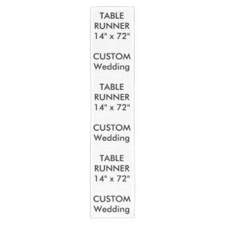 "Custom Table Runner 14"" x 72"""