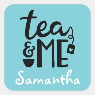 Custom Tea Sticker