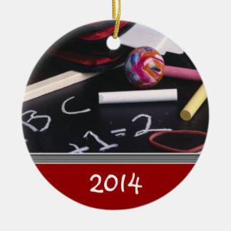 Custom TEACHER S Christmas Ornament Template