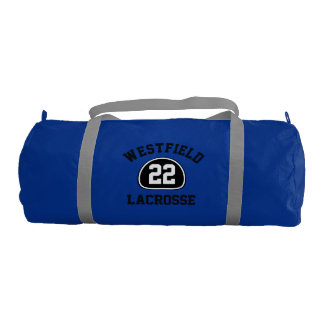 Custom Team Pride Team Name and Number/Class Year Gym Bag