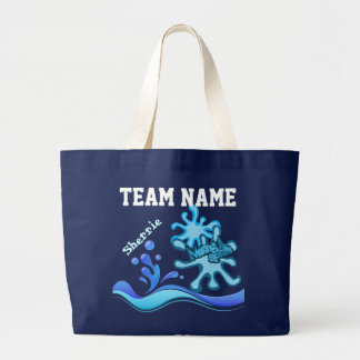 Custom Team Swim Tote Bags