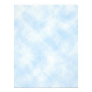 Custom Template: Blue Sky With Clouds Letterhead