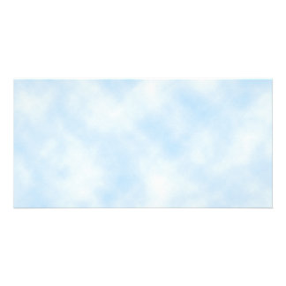 Custom Template: Blue Sky With Clouds Photo Cards