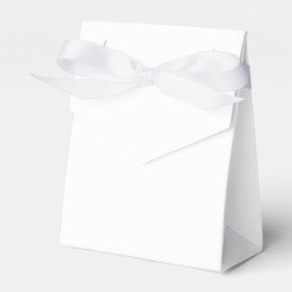 Custom Tent Favour Box (White Ribbon) Favor Box