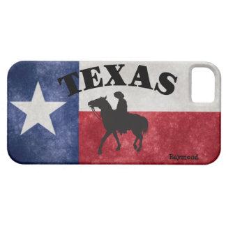 Custom Texas Flag And Cowboy iPhone 5 Cases