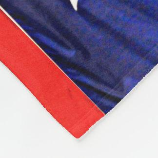 Custom Texas Flag Fleece Blanket