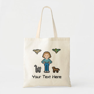 Custom Text Animal Rescuer Budget Tote Bag