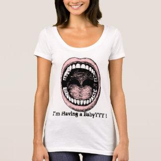 Custom text funny announcements T-Shirt