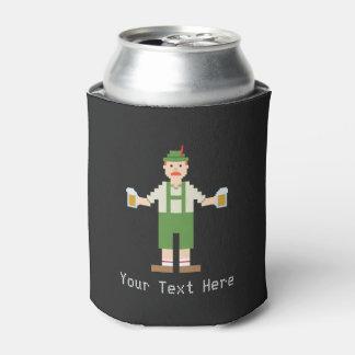 Custom Text Pixel German Can Cooler