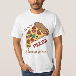 Custom Text Pizza Slice shirts & jackets
