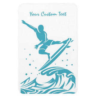 Custom Text SURFER magnet