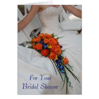 Custom Text Wedding Shower Gift Card