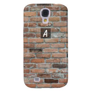 Custom Textured Brick Samsung Galaxy S4 Case