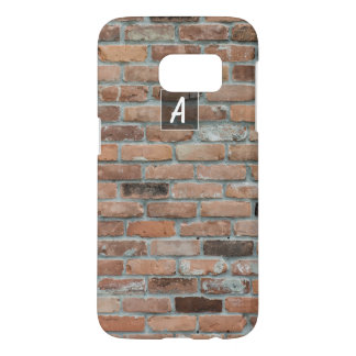 Custom Textured Brick Samsung Galaxy S7 Case