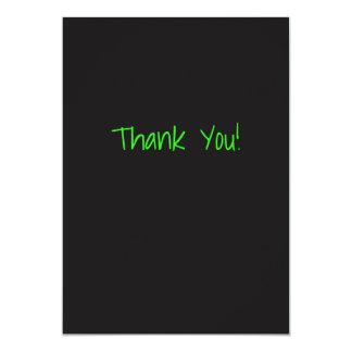 Custom Thank You Card