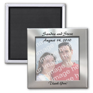 Custom Thank You!  Photo Magnet