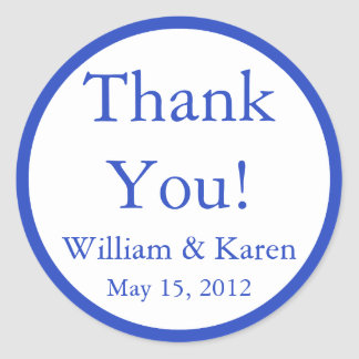Custom Thank You Stickers and Favor Labels