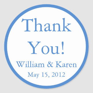 Custom Thank You Stickers and Favour Labels