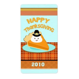 Custom Thanksgiving Label / Sticker