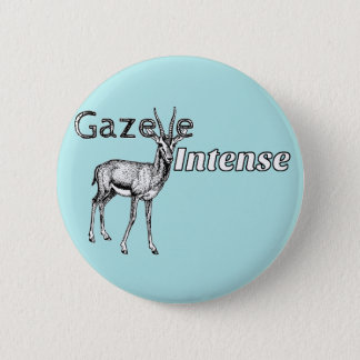 Custom the Colour! Gazelle Intense Motivational 2 Inch Round Button