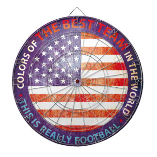 CUSTOM THE USA GIFTS DARTBOARD