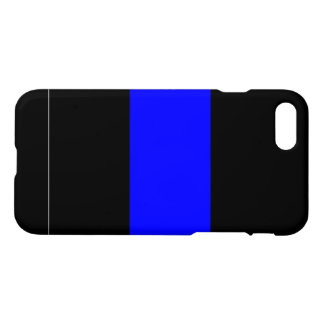 Custom Thin Blue Line Police iPhone 7 Case