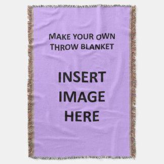 Custom Throw Blanket Template to Make Your Own