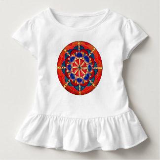 Custom Toddler Tshirt with Ruffle