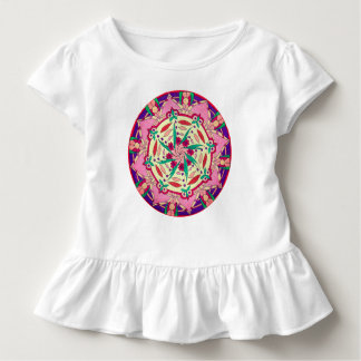 Custom Toddler's Tshirt with Ruffle