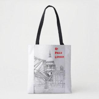 Custom Tote Bag - London Icons