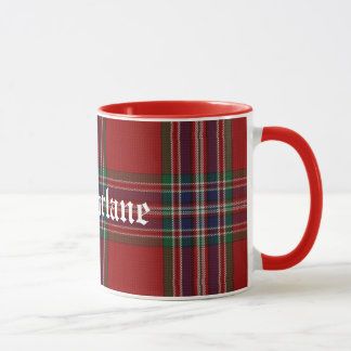 Custom Traditional MacFarlane Tartan Plaid Mug