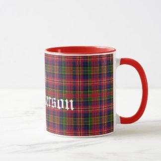 Custom Traditional MacPherson Tartan Plaid Mug