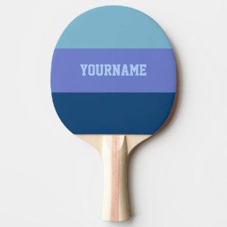 Custom Tri-Color ping pong paddle