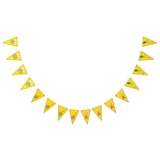 Custom Triangle Party Bunting Banner
