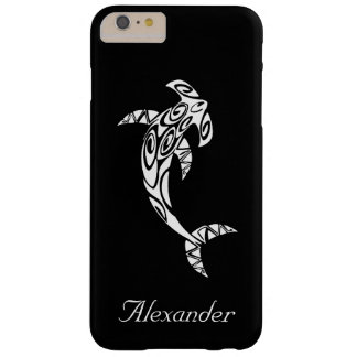 Custom Tribal Hammerhead Shark Illustration Barely There iPhone 6 Plus Case