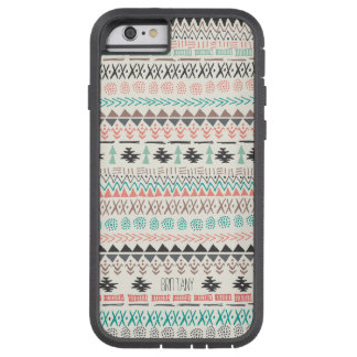 Custom Tribal Print iPhone 6 Case