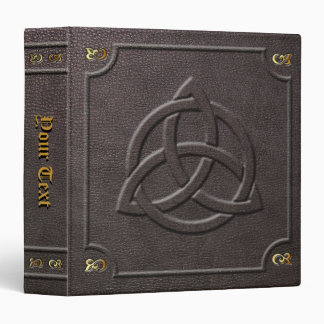 Custom Triquetra Book of Shadows Binder