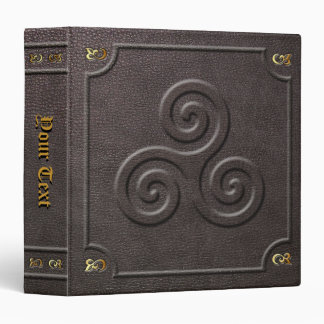 Custom Triskele Book of Shadows Vinyl Binders