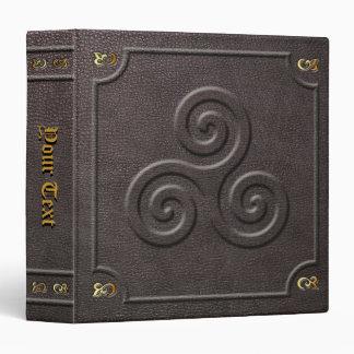 Custom Triskele Book of Shadows Vinyl Binders