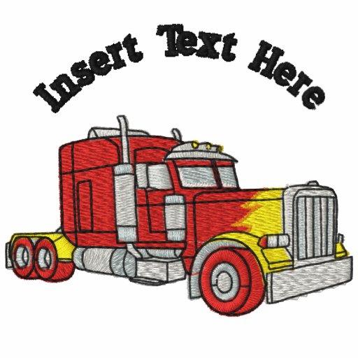 Custom Truckers Embroidered Shirt
