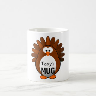 Custom Turkey Coffee Mug