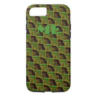 Custom Turtleshell Pattern iPhone Case