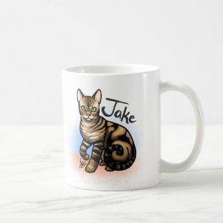 "Custom ""Two Cats"" Mug"