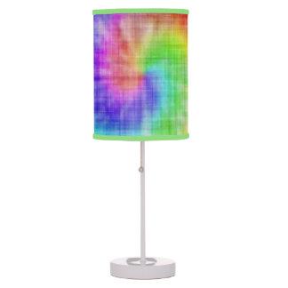 Custom Tye Dye 'look' Lamp