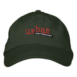 Custom Urban Dictionary embroidered hat
